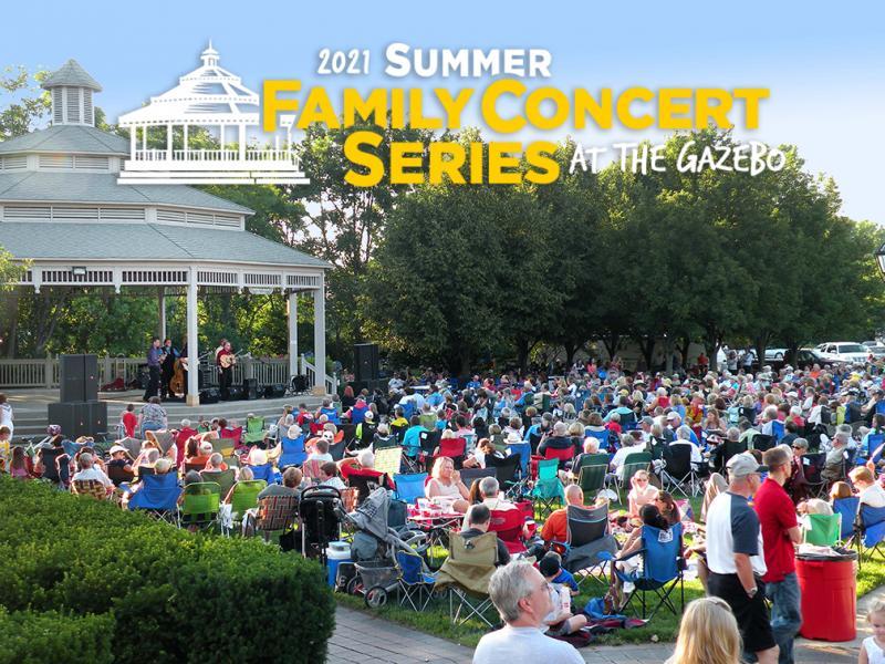 Summer Family Concert Series at the Gazebo: Jai Baker Trio